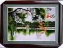 Tranh thêu Hồ gươm 1
