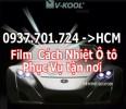 phim cách nhiệt ô tô vkool phục vụ tận nơi (HCM)